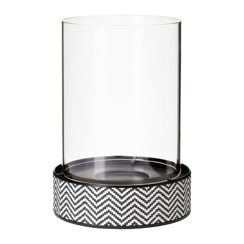 VARLIG Lantern for candle/block candle