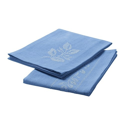 VÅRLIGT Tea towel   Cotton/linen blend with high absorption capacity.