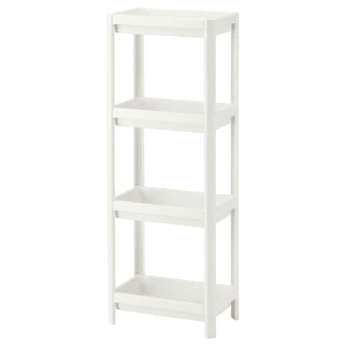 VESKEN shelf unit white 36 cm 23 cm 100 cm 13 kg 30 cm