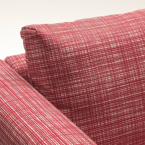 VIMLE U-shaped sofa, 6 seat, with open end/Dalstorp multicolour
