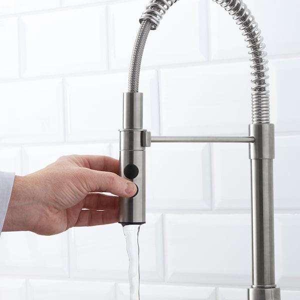 VIMMERN Kitchen mixer tap/handspray, stainless steel colour