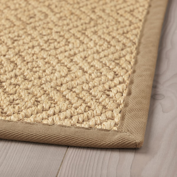 VISTOFT rug, flatwoven natural 195 cm 133 cm 8 mm 2.59 m² 2840 g/m²