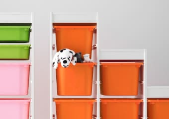 TROFAST toy storage series