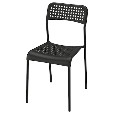 อ็อดเด เก้าอี้, ดำ