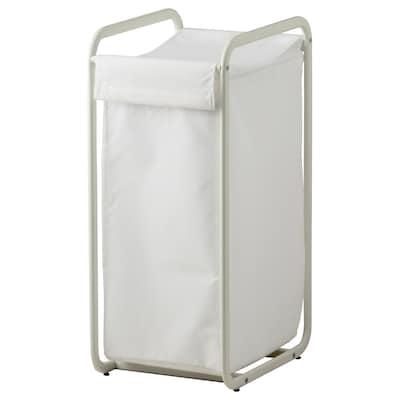 ALGOT อัลกอท ถุงเก็บของพร้อมขาตั้ง, ขาว, 56 ลิตร