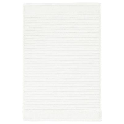 ALSTERN อัลสเติร์น พรมเช็ดเท้า, ขาว, 40x60 ซม.