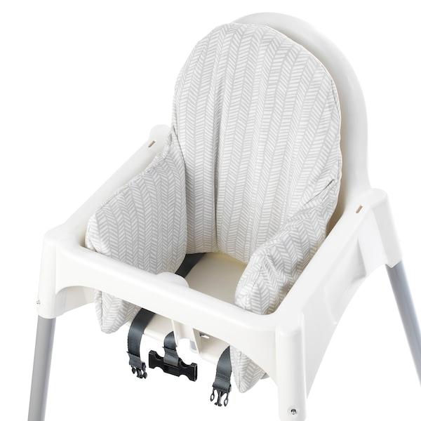 ANTILOP อันติลูป เบาะเป่าลมสำหรับเก้าอี้สูง, ขาว