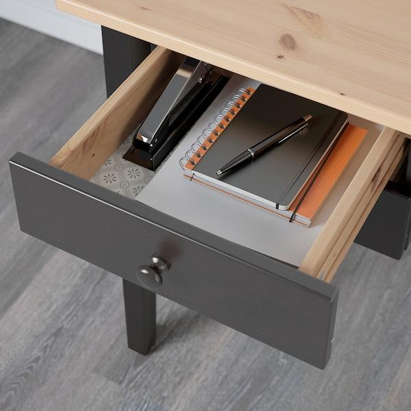 ARKELSTORP อาร์เคลสตอร์ป โต๊ะทำงาน, ดำ, 140x70 ซม.