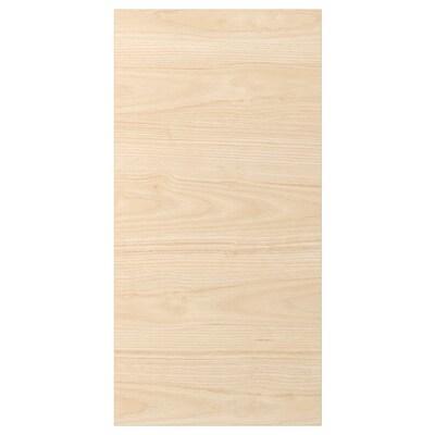ASKERSUND อัสเคอร์ชุนด์ บานตู้, ลายไลท์แอช, 40x80 ซม.