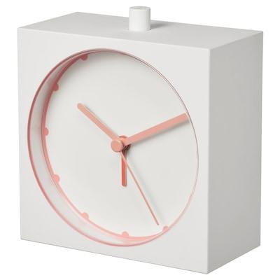 BAJK บายค์ นาฬิกาปลุก, ขาว, 5x11 ซม.