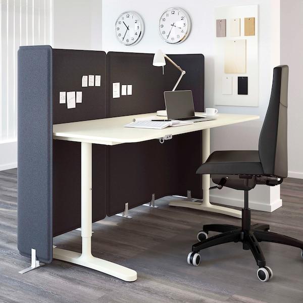 BEKANT บีแคนท์ ท็อปโต๊ะ, ขาว, 160x80 ซม.