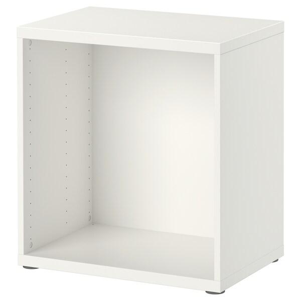 BESTÅ เบสตัว โครงตู้, ขาว, 60x40x64 ซม.