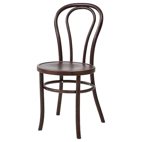 บยูรวน เก้าอี้ น้ำตาลเข้ม ย้อมสี 42 ซม. 52 ซม. 88 ซม. 41 ซม. 41 ซม. 46 ซม.