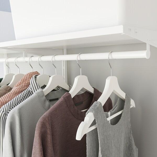 BOAXEL บูเอ็กเซล ชุดตู้เสื้อผ้า, ขาว, 125x40x201 ซม.