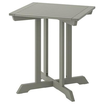 BONDHOLMEN บอนด์โฮลเมน โต๊ะ กลางแจ้ง, เทา, 65x65 ซม.