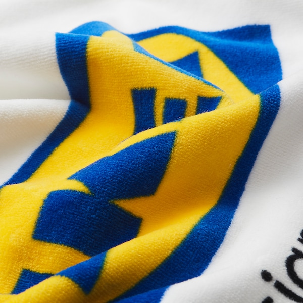 EFTERTRÄDA เอฟเตอร์แทรดา ผ้าเช็ดตัว, ขาว, 70x140 ซม.