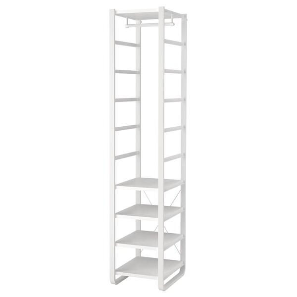 ELVARLI เอลวาร์ลี ชุดตู้เสื้อผ้า, ขาว, 44x55x216 ซม.