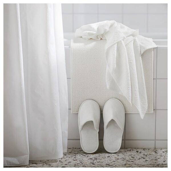 FINTSEN ฟีนท์เซน พรมเช็ดเท้า, ขาว, 40x60 ซม.