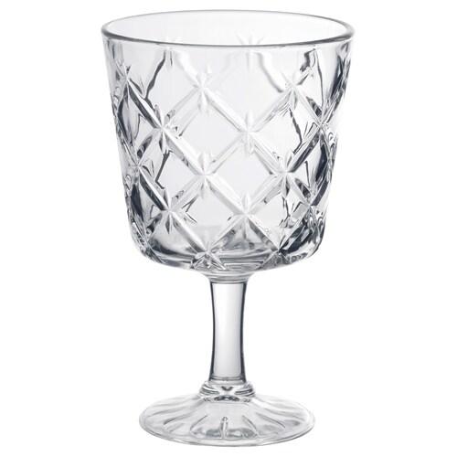 ฟลิมรา แก้วก้าน แก้วใส/มีลาย 13.7 ซม. 23 ซล.
