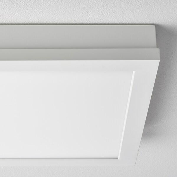 FLOALT ฟลูอัลต์ แผงไฟ LED, หรี่ไฟได้/สเปกตรัมสีขาว, 30x30 ซม.