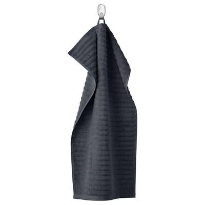 FLODALEN ฟลูดาเลน ผ้าเช็ดมือ, เทาเข้ม, 40x70 ซม.