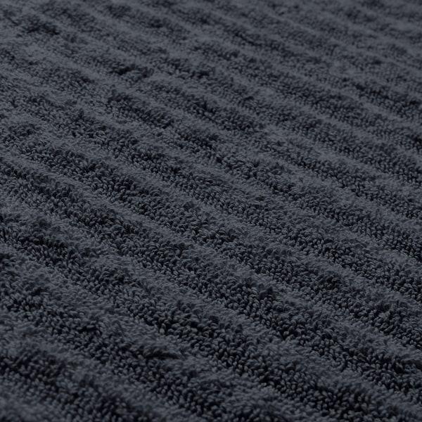 FLODALEN ฟลูดาเลน ผ้าขนหนู, เทาเข้ม, 30x30 ซม.