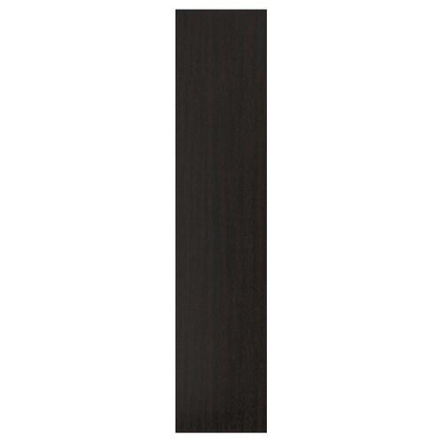 ฟอร์ชันด์ บานตู้พร้อมบานพับ ลายไม้แอชย้อมสีน้ำตาลดำ 49.5 ซม. 229.4 ซม. 236.4 ซม. 1.8 ซม.