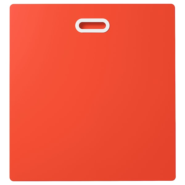 FRITIDS ฟริทิดส์ หน้าลิ้นชัก, แดง, 60x64 ซม.