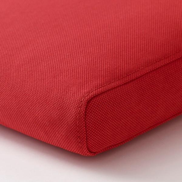 ฟรัวเซิน/ดูฟโฮลเมน เบาะรองเก้าอี้ กลางแจ้ง แดง 44 ซม. 44 ซม. 5 ซม.