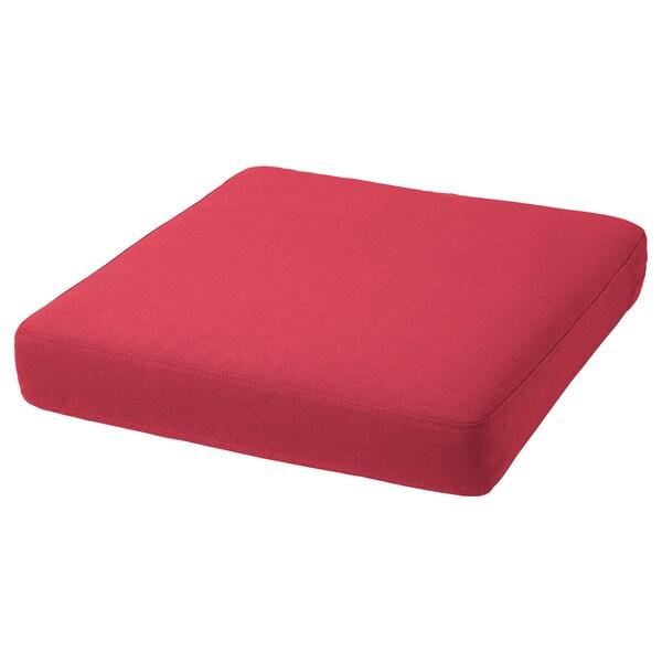 ฟรัวเซิน/ดูฟโฮลเมน เบาะรองนั่ง กลางแจ้ง, แดง, 62x62 ซม.