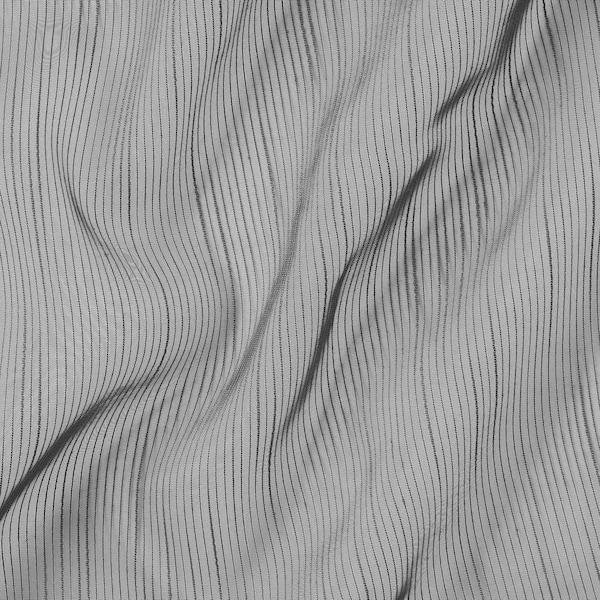GJERTRUD เยิร์ตรุด ผ้าม่านโปร่ง 1 คู่, เทาเข้ม, 145x250 ซม.