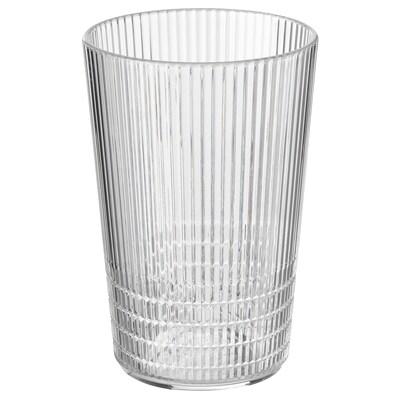 KALLSINNIG แก้วน้ำ, ใส พลาสติก, 38 ซล.