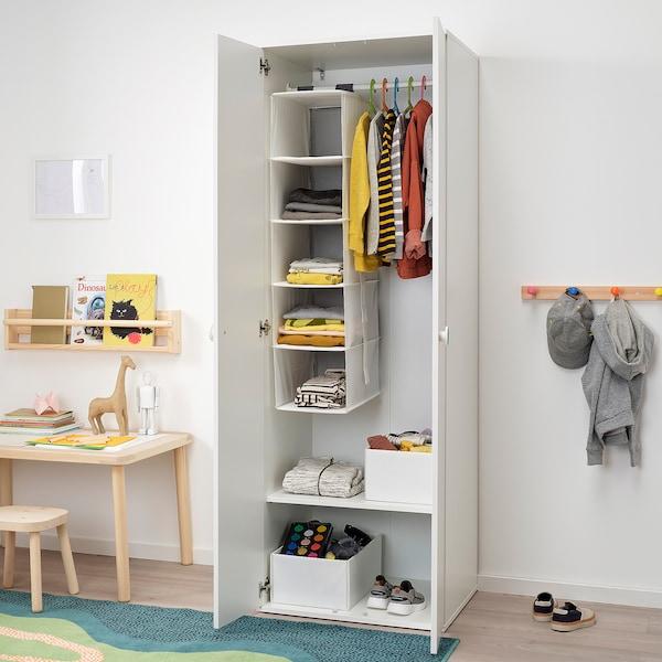 GODISHUS โกดิสฮุส ตู้เสื้อผ้า, ขาว, 60x51x178 ซม.
