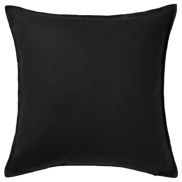 GURLI กูร์ลิ ปลอกหมอนอิง, ดำ, 50x50 ซม.
