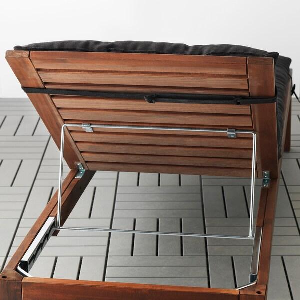 โฮลเออ เบาะรองเตียงอาบแดด, ดำ, 190x60 ซม.
