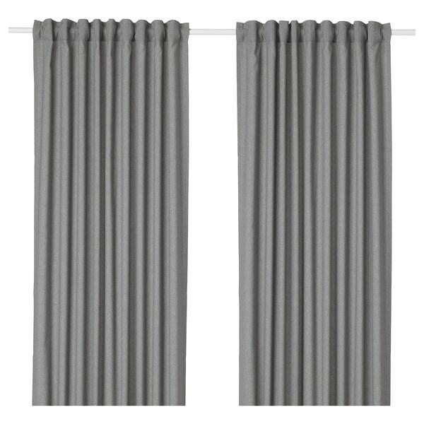 IKEA ฮันนาเลียนา ม่านทึบแสง 1 คู่