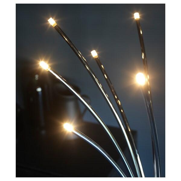 โฮฟเนส โคมไฟตั้งพื้น  ชุบโครเมียม 4 วัตต์ 204 ลูเมน 50 ซม. 146 ซม. 25 ซม. 2.3 ม. 2.4 วัตต์