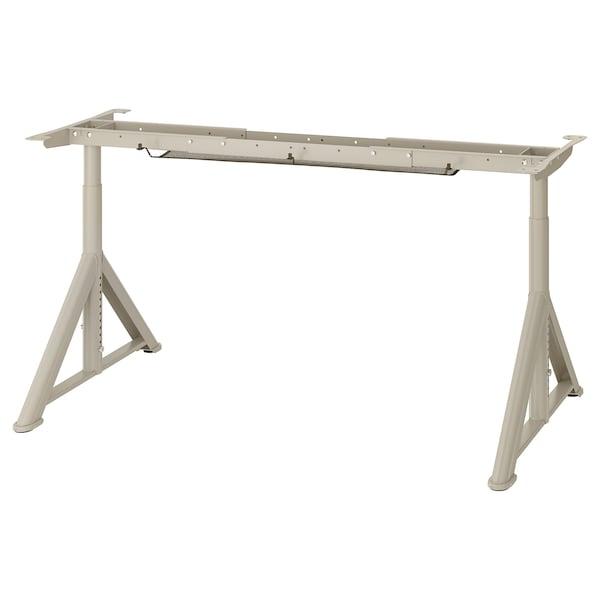 IDÅSEN อิดัวเซน โครงขาโต๊ะ, เบจ, 146x67x76 ซม.