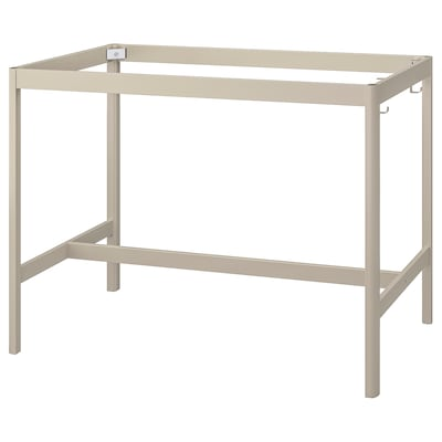 IDÅSEN อิดัวเซน โครงขาโต๊ะ, เบจ, 139x69x102 ซม.