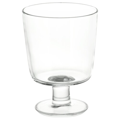 อิเกีย 365+ แก้วก้าน แก้วใส 12 ซม. 30 ซล.
