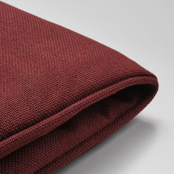 แยร์เพิน ผ้าหุ้มเบาะเก้าอี้, เฟอร์นิเจอร์สนาม สีแดงอมน้ำตาล, 50x50 ซม.