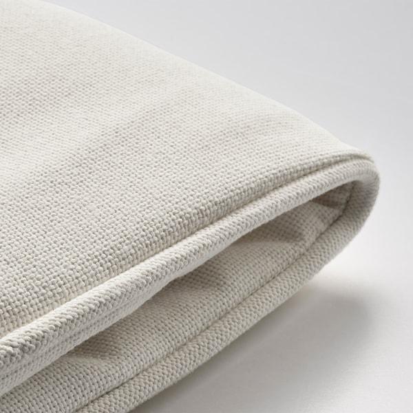 แยร์เพิน ผ้าหุ้มเบาะเก้าอี้, เฟอร์นิเจอร์สนาม ขาว, 50x50 ซม.