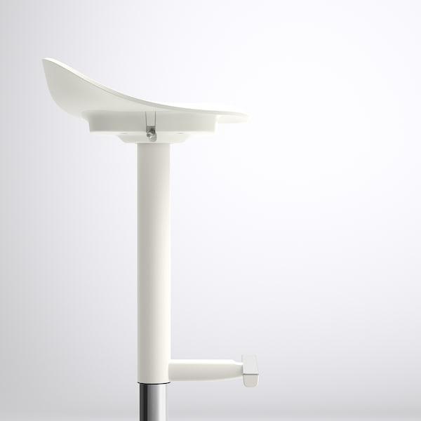 JANINGE ยอนิงเง เก้าอี้บาร์, ขาว, 76 ซม.