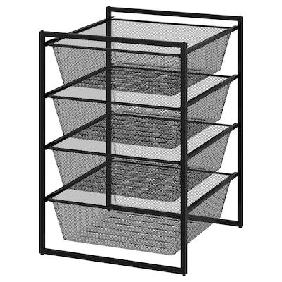 JONAXEL ยูเน็กเซล ชุดตู้เก็บของ, สีแอนทราไซต์, 50x51x70 ซม.