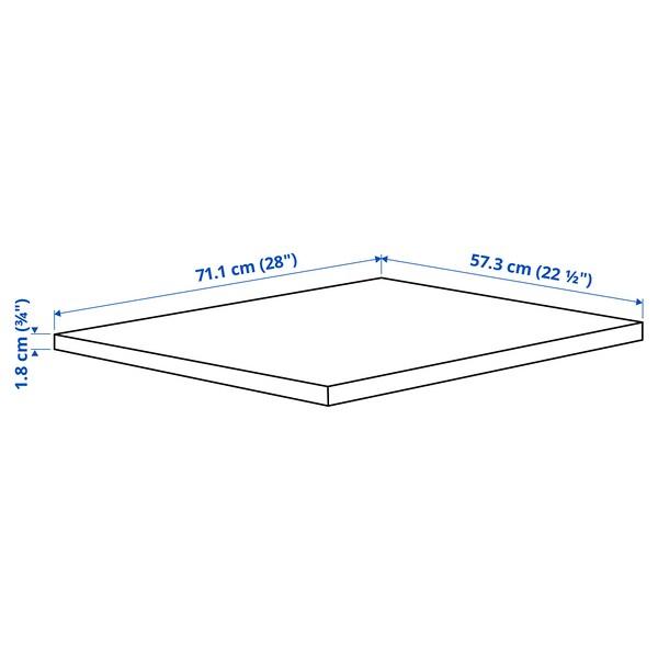 KOMPLEMENT คอมเพลียเมนท์ ชั้นวางของ, น้ำตาลดำ, 75x58 ซม.