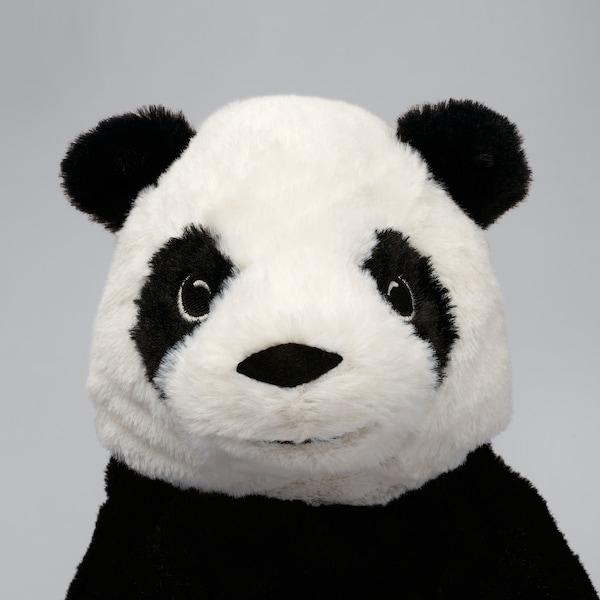 KRAMIG ครอมมิก ตุ๊กตาผ้า, ขาว/ดำ