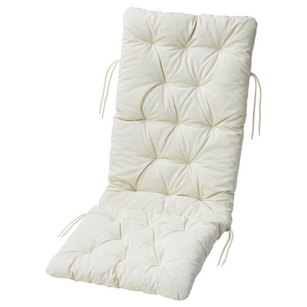 คุดดาร์นา เบาะรองนั่ง/เบาะพิงหลัง กลางแจ้ง, เบจ, 116x45 ซม.