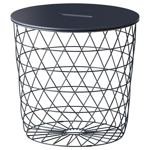 IKEA ควิสท์บรู โต๊ะกลมมีที่เก็บของ