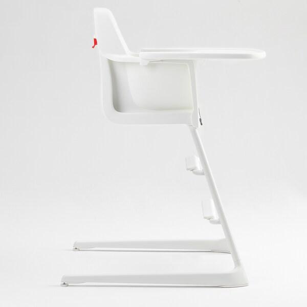 ลันเกอร์ เก้าอี้สูงพร้อมถาดสำหรับเด็กโต ขาว 56 ซม. 61 ซม. 87 ซม. 22 ซม. 21 ซม. 56 ซม.