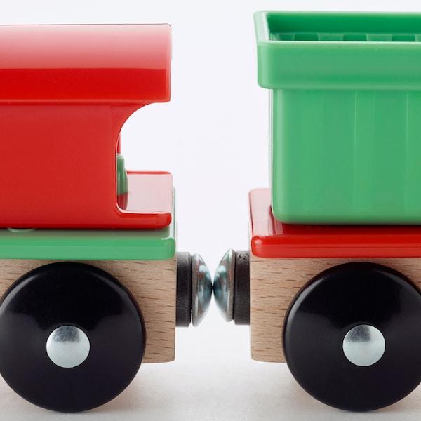 LILLABO ลิลลาบู ชุดของเล่นขบวนรถไฟ 3 ชิ้น
